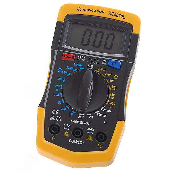 Check Ac Capacitor With Multimeter : How to test run capacitor with multimeter images
