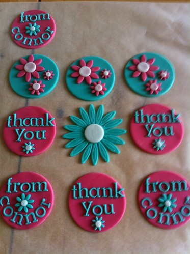 thank you teacher cupcakes | by joey+3 Cotton Candy Cakes