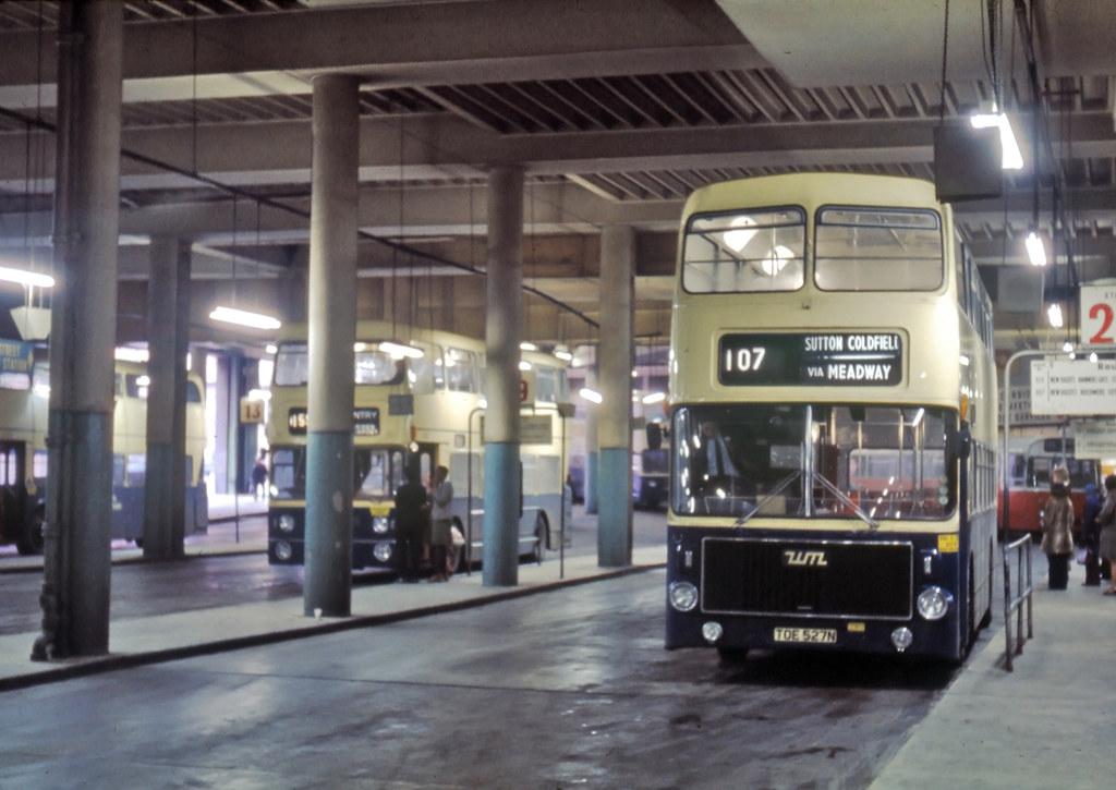 Birmingham bus station | In the ever present gloom of Birmin… | Flickr