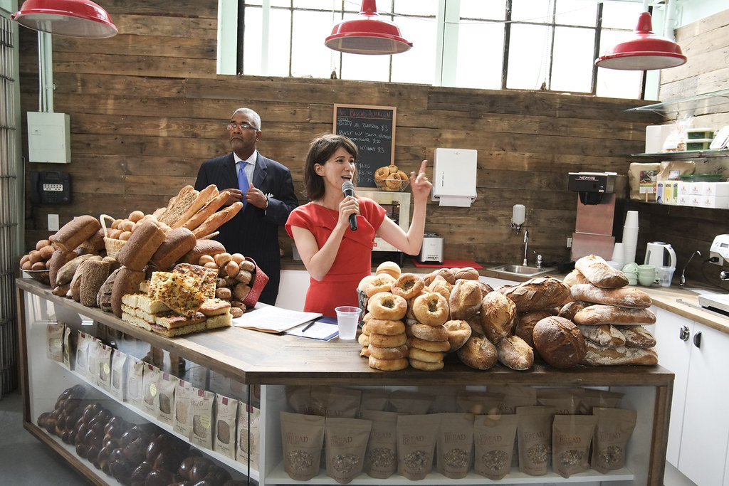 Jessamyn Rodriguez CEO and Founder of Hot Bread Kitchen--W… | Flickr