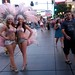 Here is your Las Vegas photo: I was only walking by... #showgirls #jesus