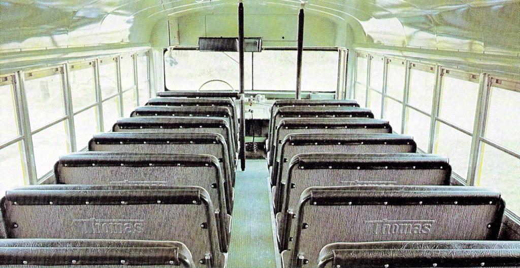 ... School Bus Memory   Thomas Bus Interior 1970s | By JSF0864