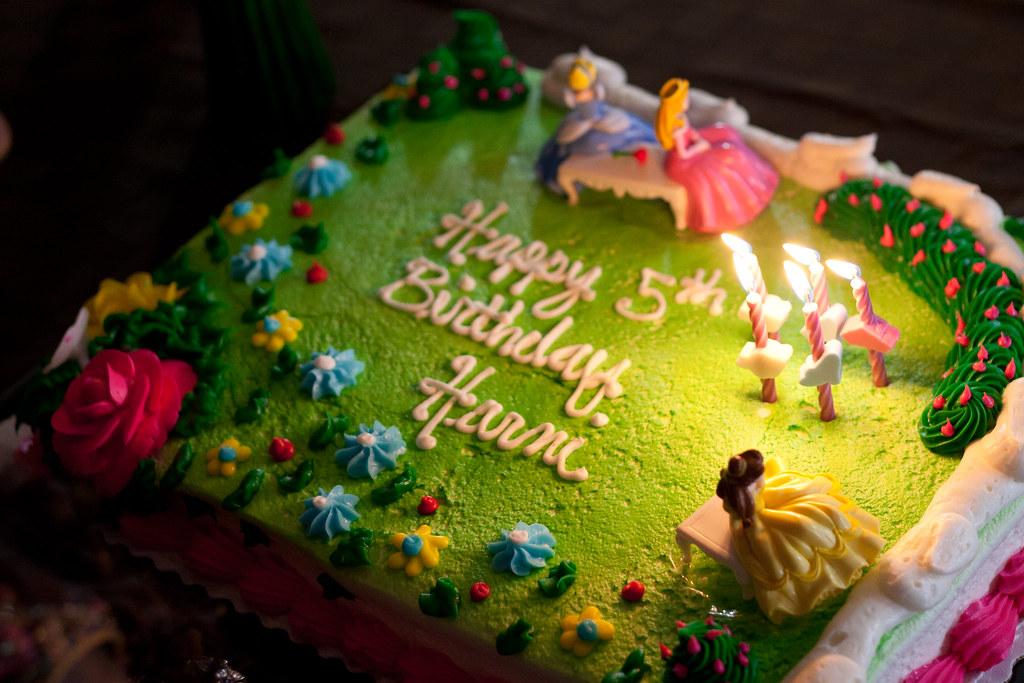 Birthday Cake For Little Sister ~ My little sisters birthday cake : harni's 5th birthday cau2026 flickr