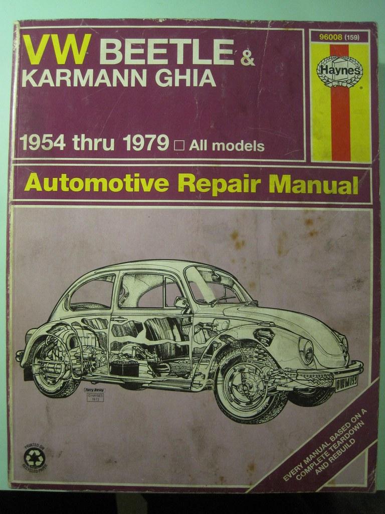 ... haynes owners workshop manual vw beetle karmann ghia 54 79 | by our78bus
