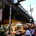 Ueno market under the railways