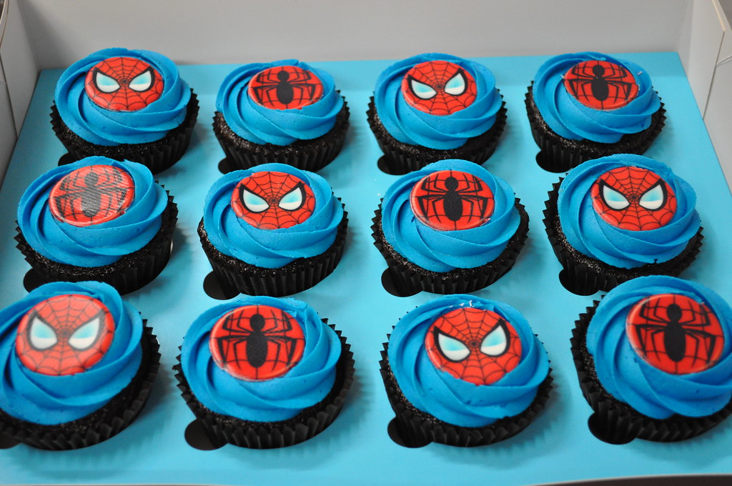 Spiderman Cupcakes Cupcakes by Paolo Flickr