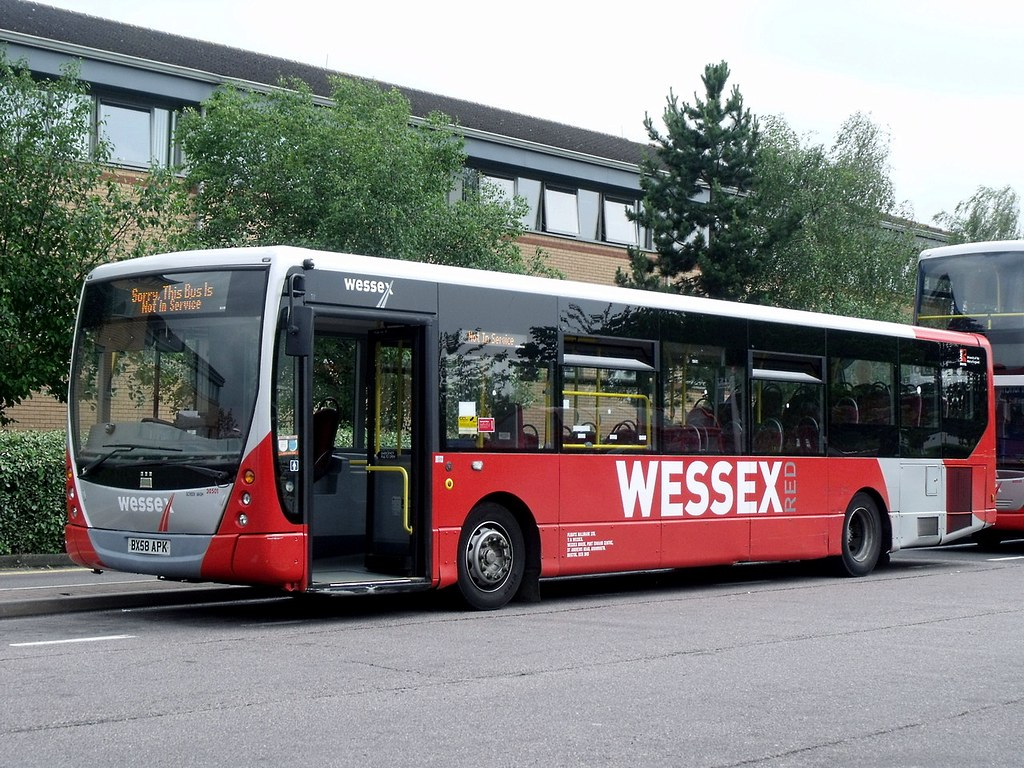 Wessex Bx58 Apk Operator Wessex Bus Vehicle Volvo