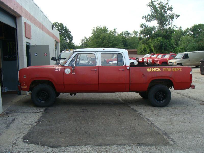 1978 dodge 4x4 crew cab fire truck steve h flickr. Black Bedroom Furniture Sets. Home Design Ideas