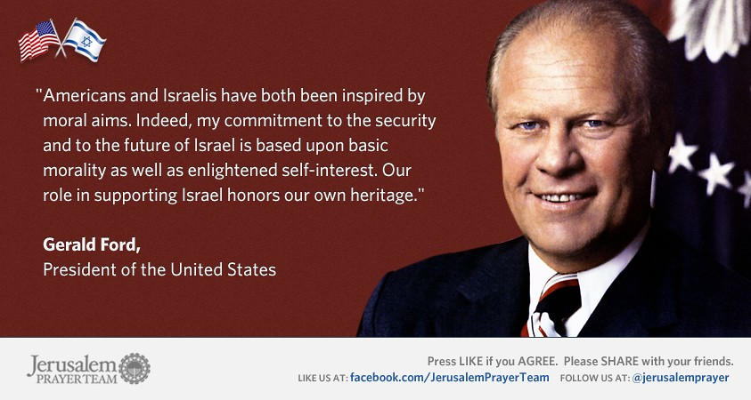 Gerald Ford Quotes Entrancing Gerald Ford President Of The United States  Jerusalem Pr…  Flickr