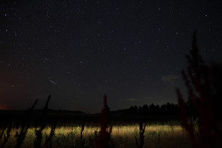 Dueling Perseids | by It was the light, it was the angle