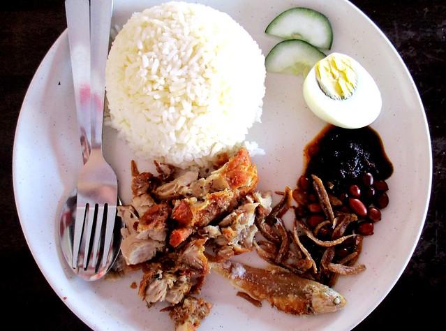YS Cafe nasi lemak special 1