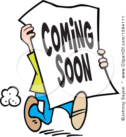 1094111 clipart man carrying a coming soon sign royalty fr flickr rh flickr com picture coming soon clip art image coming soon clip art