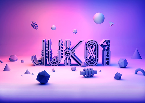 Juk01 Typeface 3D | by Andreas Leonidou