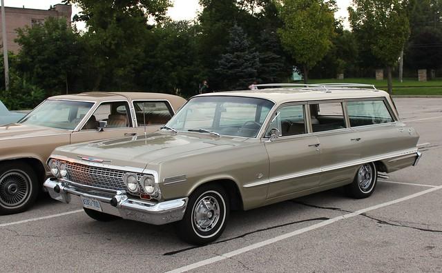 1963 chevrolet impala wagon flickr photo sharing. Black Bedroom Furniture Sets. Home Design Ideas