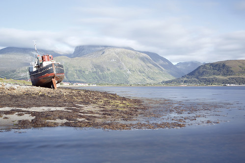 Fort William & Ben Nevis from across Loch Linnhe | by vastre1