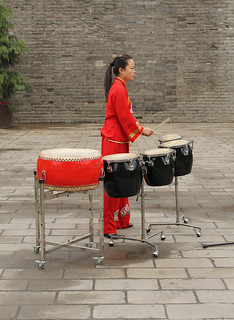 Drummer Is Rehearsing  for Drum Show - Xian (China) | by Esther Spektor - Thanks for 12+millions views..