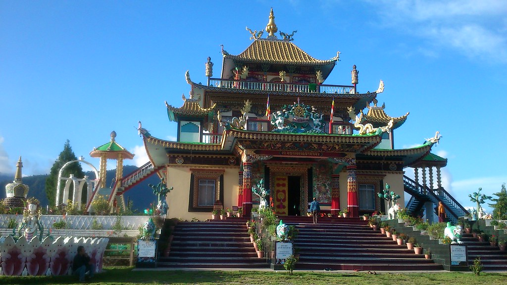 Buddhist Gompa | The Buddhist Temple (Gompa) at Chilipam ...