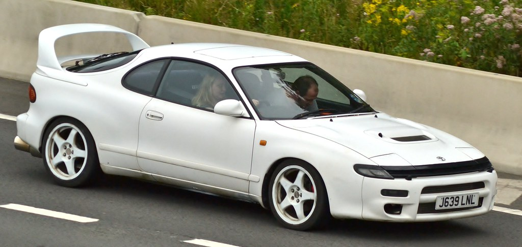 Toyota Celica Gt4 Turbo Seen On The M4 In Newport Flickr