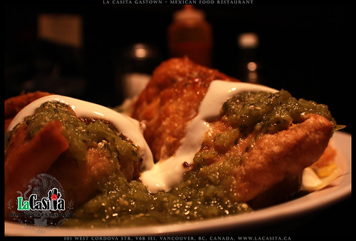 Best chimichangas in Vancouver, BC | by La Casita Gastown