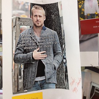 On the bulletin board at center diamond - my Ryan funny! | by Happy Zombie