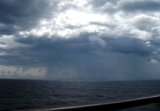 Isolated Rain Shower Viewed While Aboard Carnival Elation (8-29-12) | by 54StorminWillyGJ54