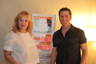 Yannick Bisson from Murdoch Mysteries and his wife stop by Yorkdale Shopping Centre at Tastemakers Lounge | by rockitpromo