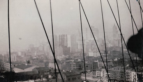 Birds Eye View from Brooklyn Bridge - 1919 | by paws22