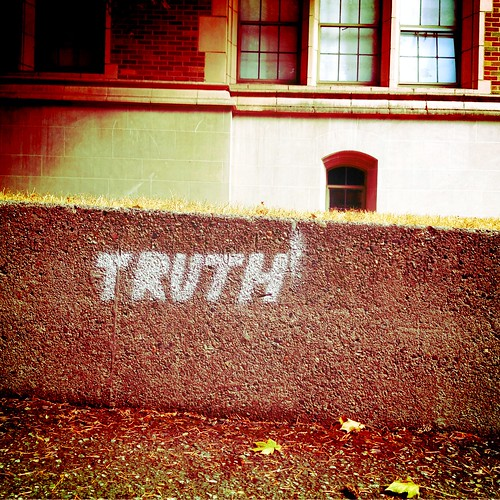 Truth, Seattle | by Curtis Cronn