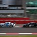 Mercedes AMG SLS GT3 leads the McLaren MP4-12C in the national pit straight - WOW