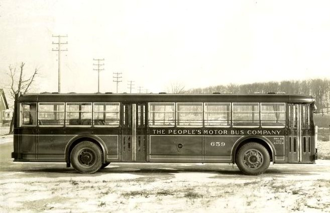 The People 39 S Motor Bus Company No 659 1931 Yellow Coach Flickr