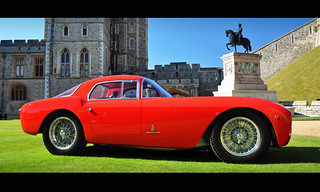 Matteo Panini's 1953 Maserati A6GCS Pininfarina Berlinetta - 2012 Windsor Concours of Elegance (Explored) | by Motorsport in Pictures