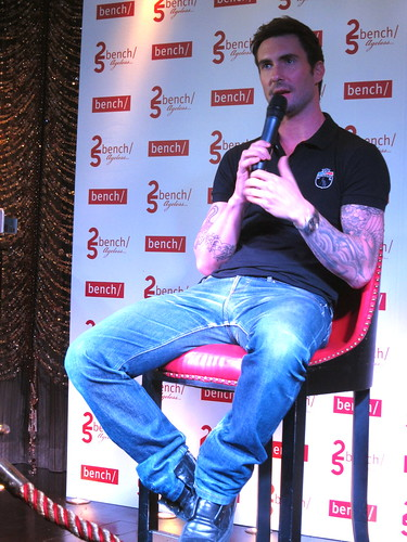 Adam Levine for BENCH | by chuvaness
