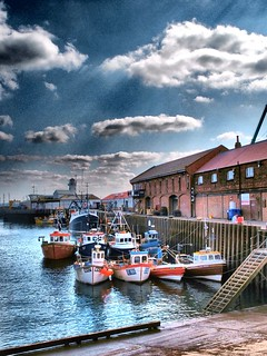 Fishing Boats, Scarborough Harbour, Yorkshire. UK | by Man of Yorkshire