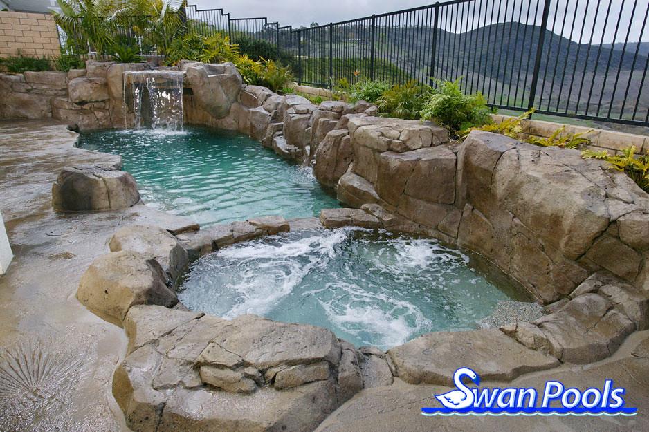 natural hot spring swan pools swimming pool design gallery 1 800 - Swimming Pool Designs Galleries