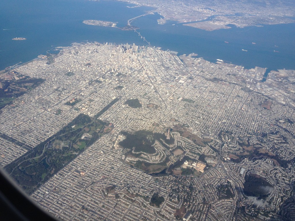 san francisco from the air laurie voss flickr. Black Bedroom Furniture Sets. Home Design Ideas