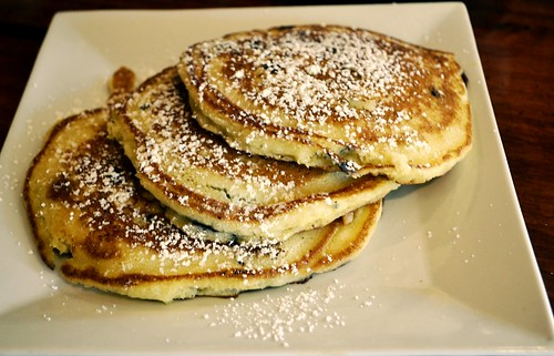 BLUEBERRY PANCAKES WITH RICOTTA CHEESE FILLING | by Joe Desiderio