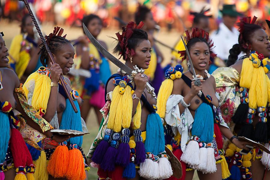Umhlanga (Reed Dance),...