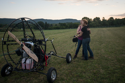 Us, Hugging with Paramotor Quad (by Lizza) | by goingslowly