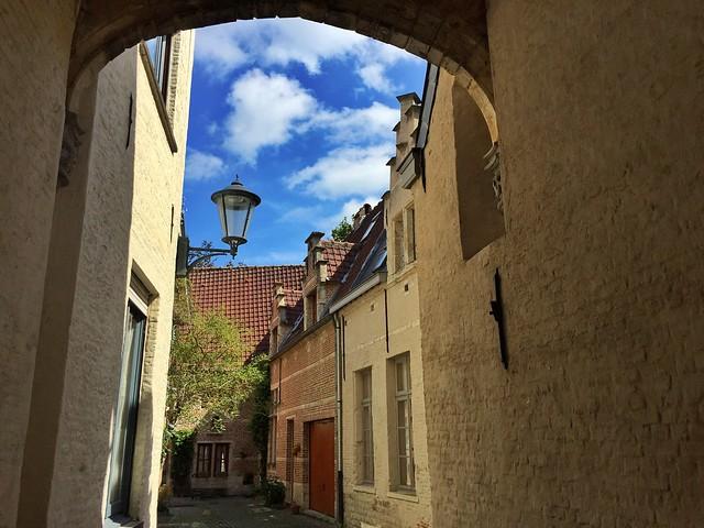 Beaterio (beguinaje) de Malinas (Mechelen) en Flandes