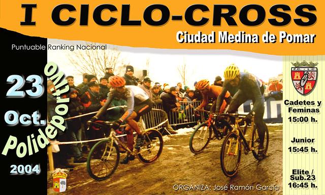Carteles Ciclocross Medina