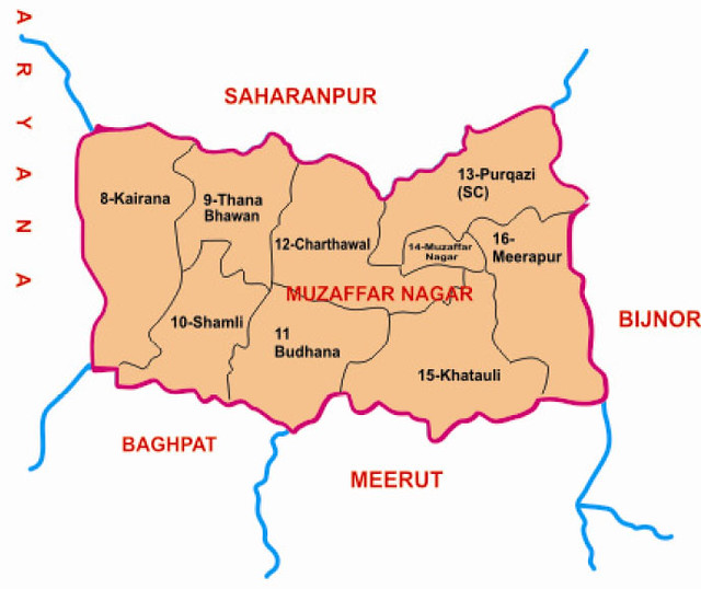 Muzaffarnagar district Uttar Pradesh Election 2017