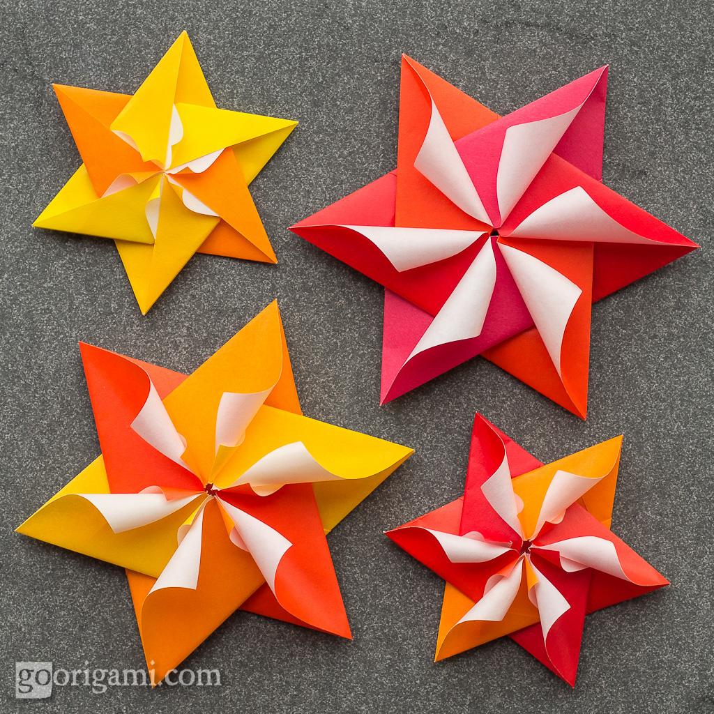 Modular Origami Stars   Modular Origami Stars (Maria ... - photo#44