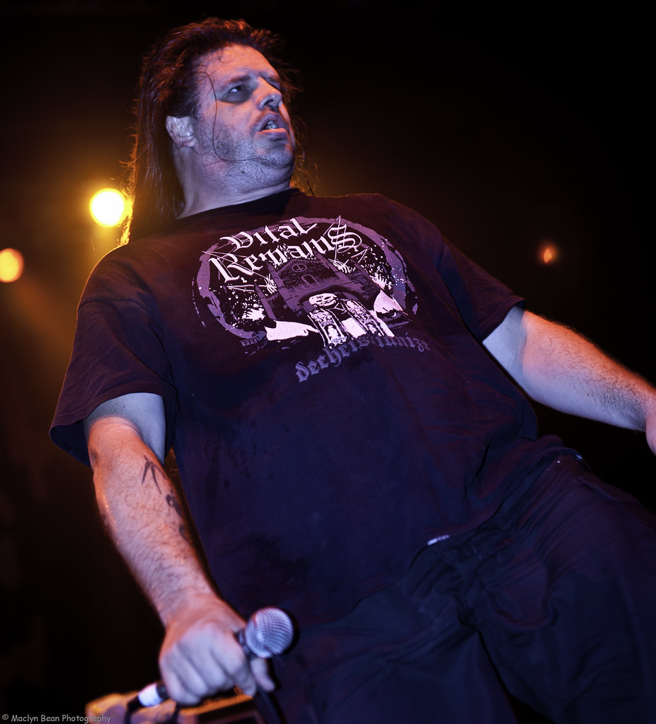 """George """"Corpsegrinder"""" Fisher of Cannibal Corpse @ The National ..."""