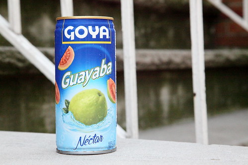 Goya guava nectar, J&M Grocery, Jersey City | by Eating In Translation