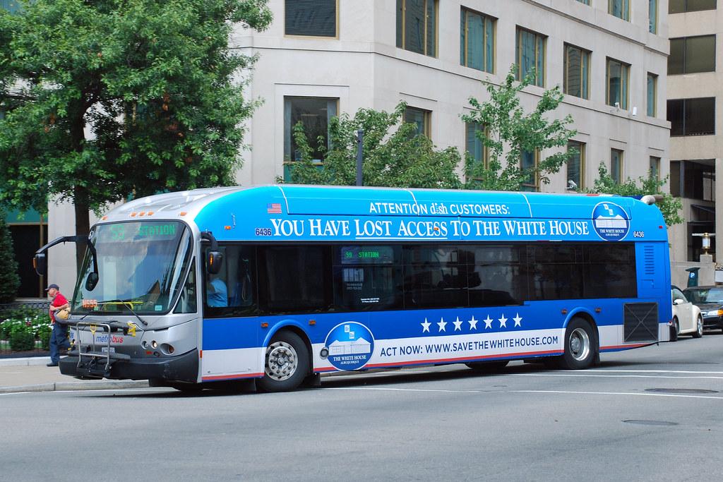 Metro Bus Cleaners Dc : Dc metrobus new flyer de lfa bus in washington d c