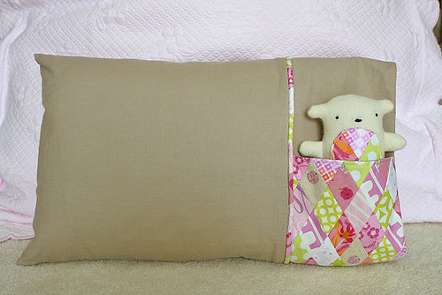 Little Pocket Pillowcase | by freshlypieced
