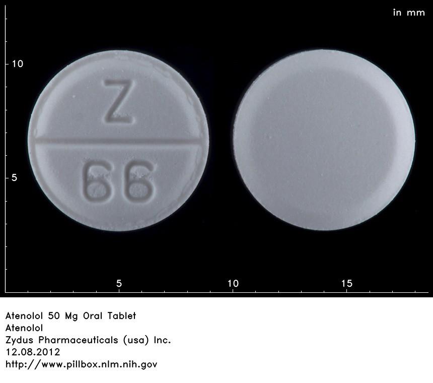 Atenolol Dosage 50 Mg