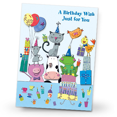 Animal party birthday card tell that special little pers flickr animal party birthday card by designdesignweb bookmarktalkfo