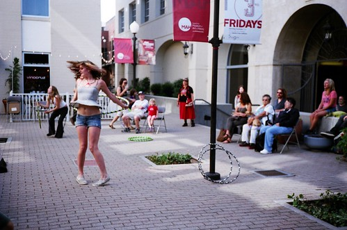 Hula Hoop Dancers at Curtis Reliford's Party #1 | by Adam Freidin