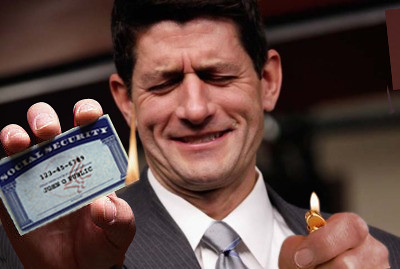 Paul Ryan :: Social Security Burn | by Wmxdesign